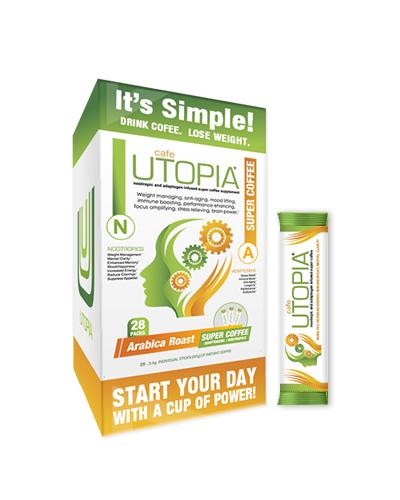 Café UTOPIA™ Coffee Stick Pack Box